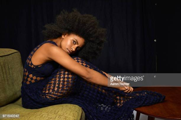 Actress Zazie Beetz is photographed for The Hollywood Reporter on February 28 2018 in New York City PUBLISHED IMAGE