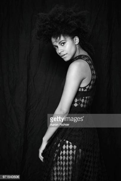 Actress Zazie Beetz is photographed for The Hollywood Reporter on February 28 2018 in New York City