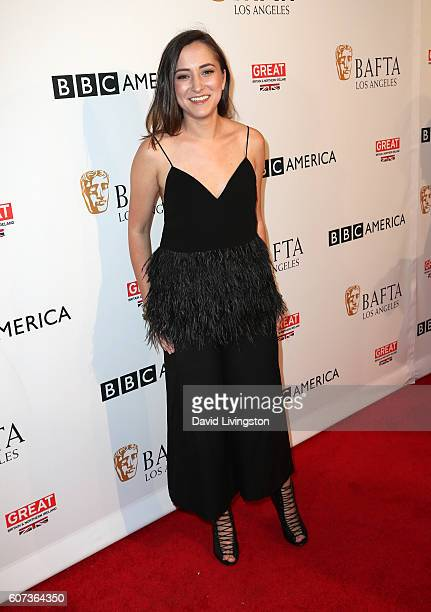 Actress Zelda Williams arrives at BAFTA Los Angeles BBC America TV Tea Party at The London Hotel on September 17 2016 in West Hollywood California