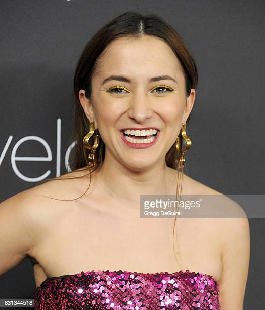 Actress Zelda Williams arrives at the 18th Annual PostGolden Globes Party hosted by Warner Bros Pictures and InStyle at The Beverly Hilton Hotel on...