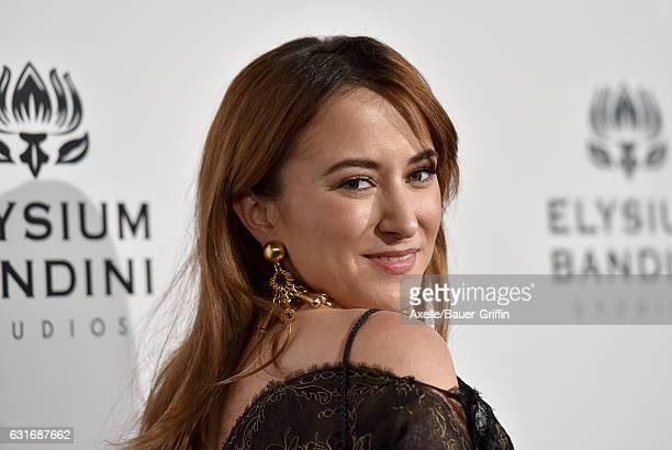 Actress Zelda Williams arrives at The Art of Elysium celebrating the 10th Anniversary at Red Studios on January 7 2017 in Los Angeles California