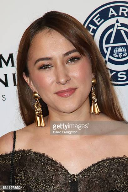Actress Zelda Williams arrives at The Art of Elysium presents Stevie Wonder's HEAVEN celebrating the 10th Anniversary at Red Studios on January 7...