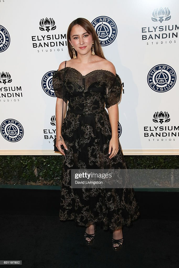 Actress Zelda Williams arrives at The Art of Elysium presents Stevie Wonder's HEAVEN celebrating the 10th Anniversary at Red Studios on January 7, 2017 in Los Angeles, California.