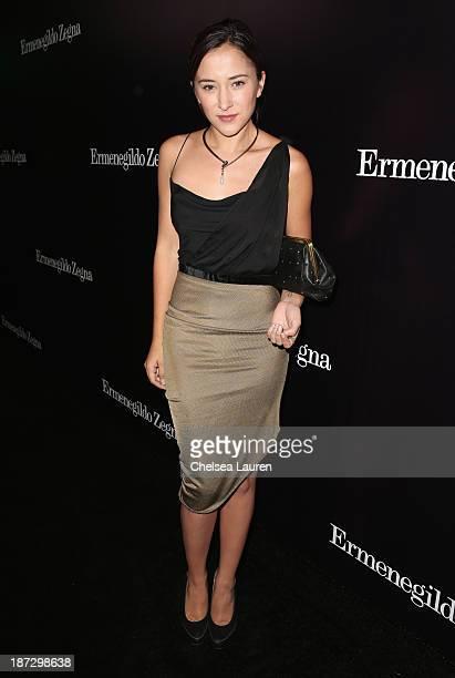 Actress Zelda Williams attends Ermenegildo Zegna Global Store Opening hosted by Gildo Zegna and Stefano Pilati at Ermenegildo Zegna Boutique on...