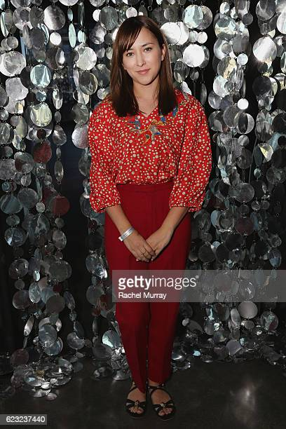 Actress Zelda Williams attends Glamour Women Of The Year 2016 LIVE Summit W Hollywood Happy Hour at W Hollywood on November 14 2016 in Hollywood...