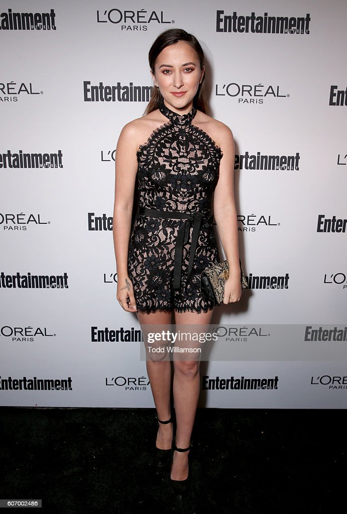 Actress Zelda Williams attends the 2016 Entertainment Weekly Pre-Emmy party at Nightingale Plaza on September 16, 2016 in Los Angeles, California.