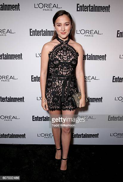 Actress Zelda Williams attends the 2016 Entertainment Weekly PreEmmy party at Nightingale Plaza on September 16 2016 in Los Angeles California