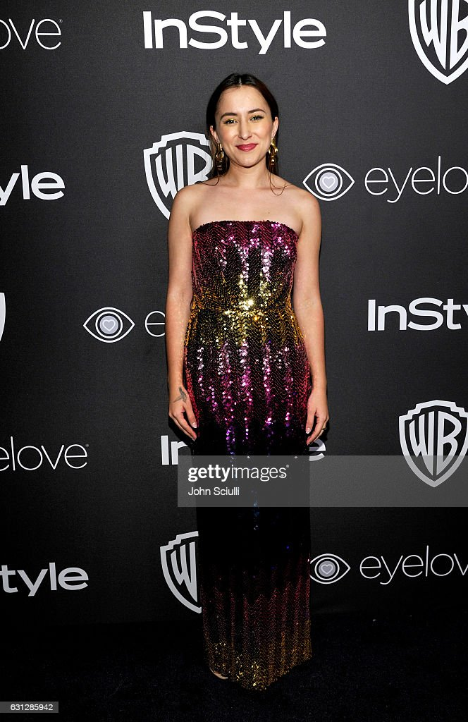 Actress Zelda Williams attends The 2017 InStyle and Warner Bros. 73rd Annual Golden Globe Awards Post-Party at The Beverly Hilton Hotel on January 8, 2017 in Beverly Hills, California.