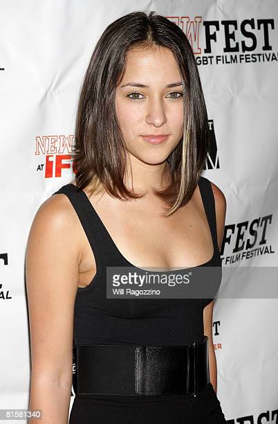 Actress Zelda Williams attends the 20th Annual Newfest Were The World Mine Premiere on June 15 2008 at AMC Loews 34th Street Theater in New York City