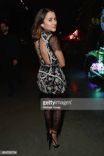 Actress Zelda Williams attends The Art of Elysium 2016 HEAVEN Gala presented by Vivienne Westwood Andreas Kronthaler at 3LABS on January 9 2016 in...