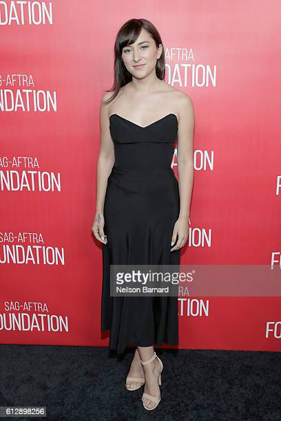 Actress Zelda Williams attends the grand opening Of SAGAFTRA Foundation's Robin Williams Center on October 5 2016 in New York City