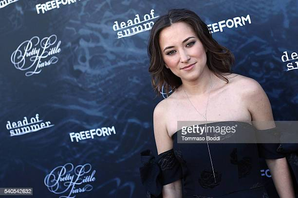 Actress Zelda Williams attends the premiere of ABC Family's Dead of Summer and Pretty Little Liars Season 7 held at the Hollywood Forever on June 15...