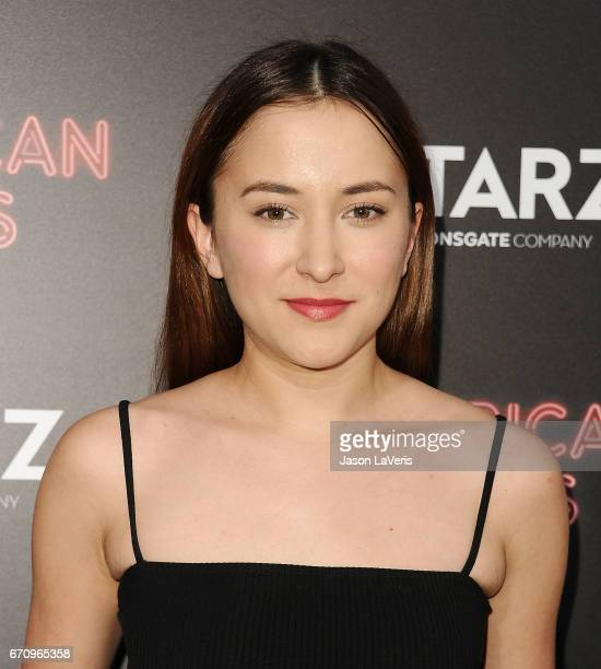 Actress Zelda Williams attends the premiere of 'American Gods' at ArcLight Cinemas Cinerama Dome on April 20 2017 in Hollywood California
