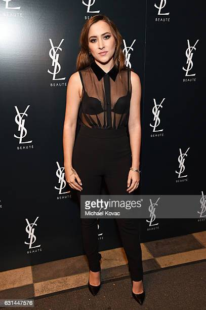Actress Zelda Williams attends the YSL Beauty Club Party at the Ace Hotel on January 10 2017 in Downtown Los Angeles California