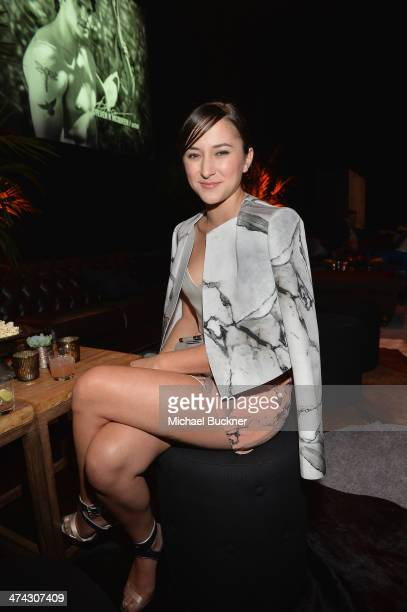 "Actress Zelda Williams celebrates the Abercrombie Fitch ""The Making of a Star"" Spring Campaign Party in Hollywood CA on February 22 2014"