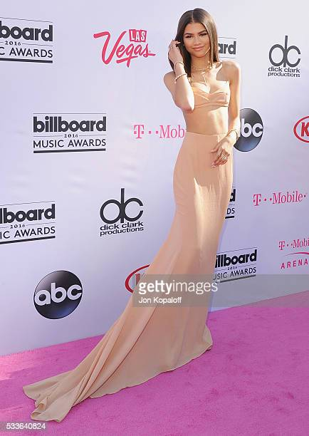 Actress Zendaya arrives at the 2016 Billboard Music Awards at TMobile Arena on May 22 2016 in Las Vegas Nevada
