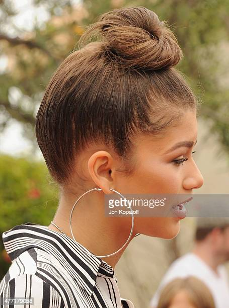Actress Zendaya arrives at the Children Mending Heart's 7th Annual Empathy Rocks Fundraiser on June 14 2015 in Malibu California