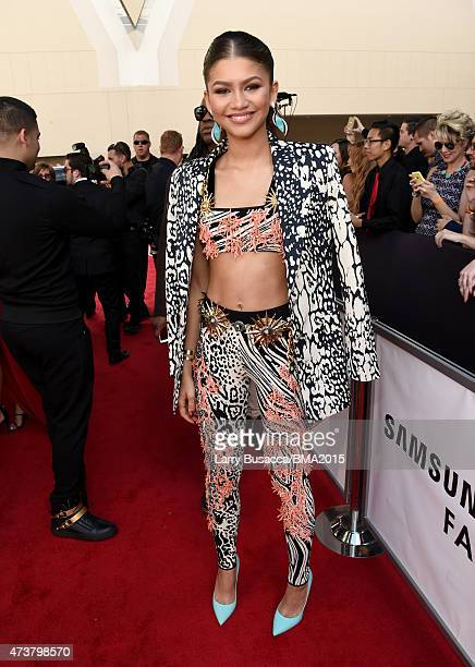 Actress Zendaya attends the 2015 Billboard Music Awards at MGM Grand Garden Arena on May 17, 2015 in Las Vegas, Nevada.