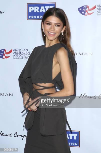 Actress Zendaya attends the 2020 AAA Arts Awards at Skylight Modern on January 30 2020 in New York City
