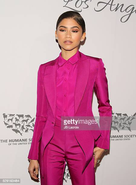 Actress Zendaya attends the Humane Society of The United States' To The Rescue Gala at The Forum on May 1 2016 in Inglewood California