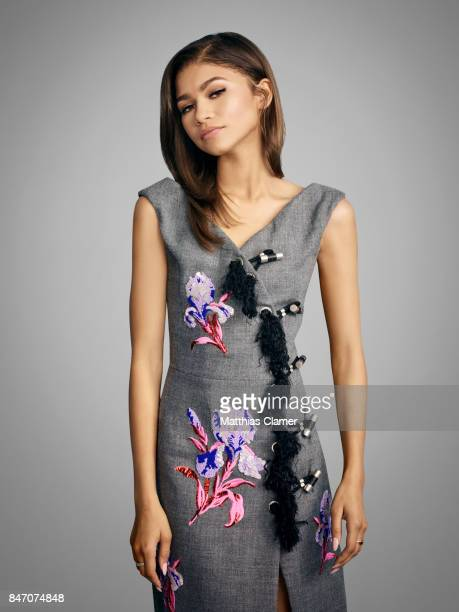 Actress Zendaya from 'SpiderMan Homecoming' is photographed for Entertainment Weekly Magazine on July 23 2016 at Comic Con in the Hard Rock Hotel in...