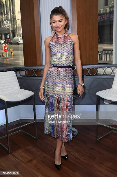 Actress Zendaya visits Hollywood Today Live at W Hollywood on July 29 2016 in Hollywood California