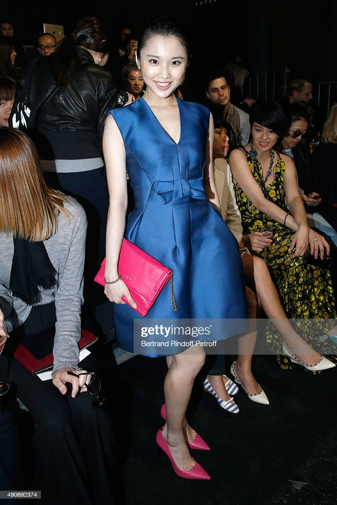 Lanvin : Front Row - Paris Fashion Week Womenswear Spring/Summer 2016