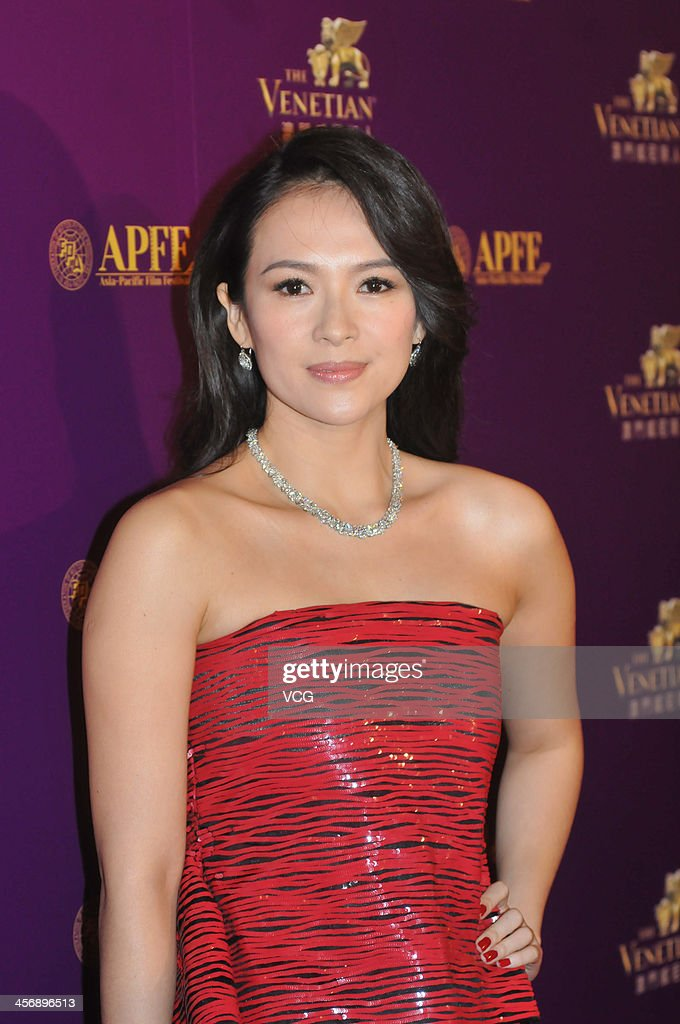 Actress Zhang Ziyi arrives at The 56th Asia-Pacific Film Festival Awards Presentation Ceremony Red Carpet at The Venetian Macao on December 15, 2013 in Macau, Macau.