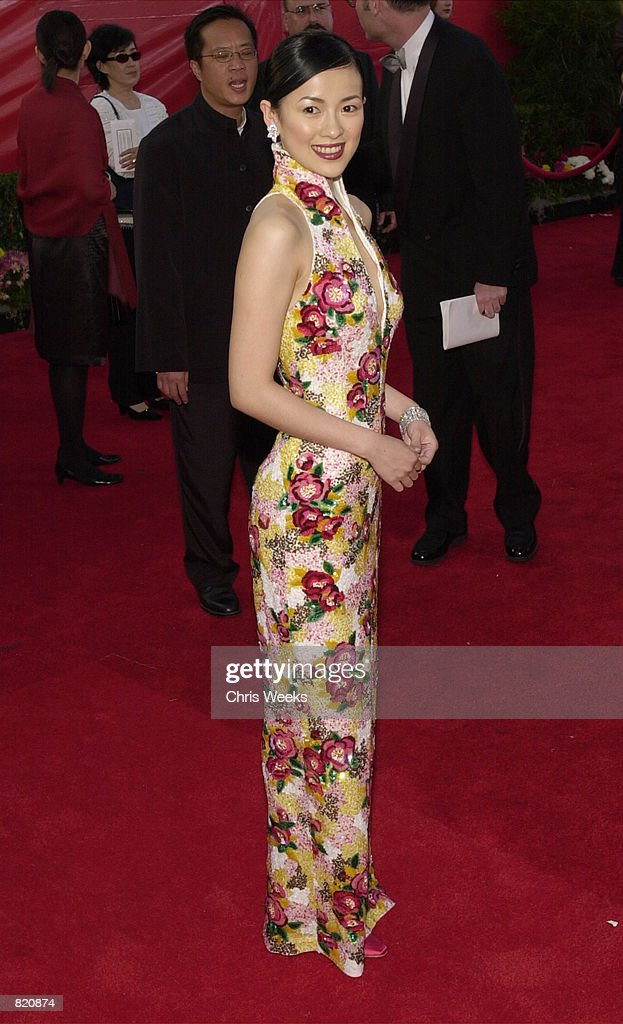 Actress Zhang Ziyi arrives for the 73rd Annual Academy ...