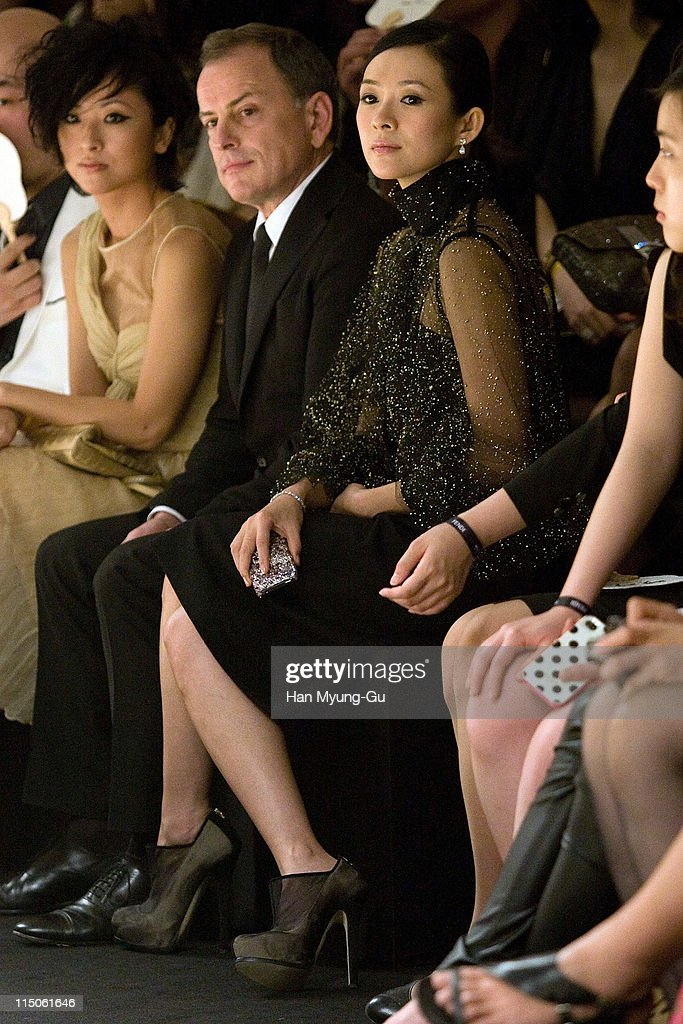 Actress Zhang Ziyi attend the Fendi Han River Fashion Show on June 2, 2011 in Seoul, South Korea.