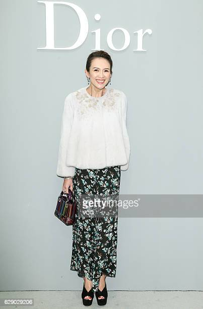 Actress Zhang Ziyi attends Dior Lady Art event on December 10 2016 in Beijing China