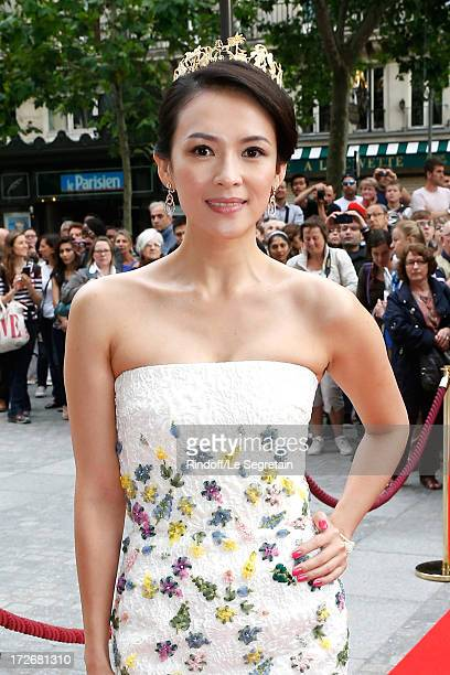 Actress Zhang Ziyi attends Le Grand Bal De La Comedie Francaise held at La Comedie Francaise on July 4 2013 in Paris France