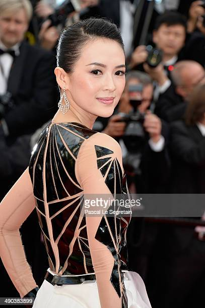 Actress Zhang Ziyi attends the Opening ceremony and the 'Grace of Monaco' Premiere during the 67th Annual Cannes Film Festival on May 14 2014 in...
