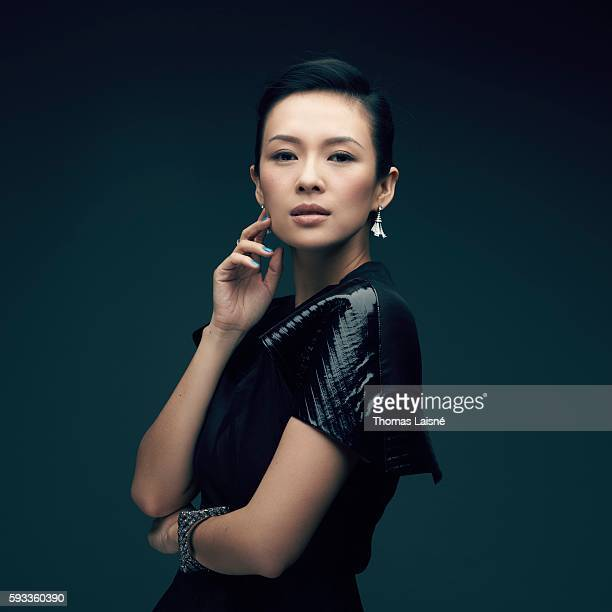 Actress Zhang Ziyi is photographed for Self Assignment on February 5 2013 in Paris France