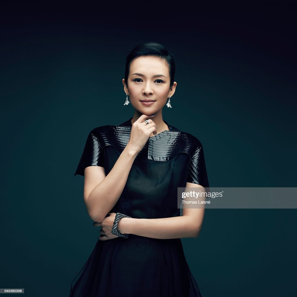 Actress Zhang Ziyi is photographed for Self Assignment on February 5, 2013 in Paris, France.