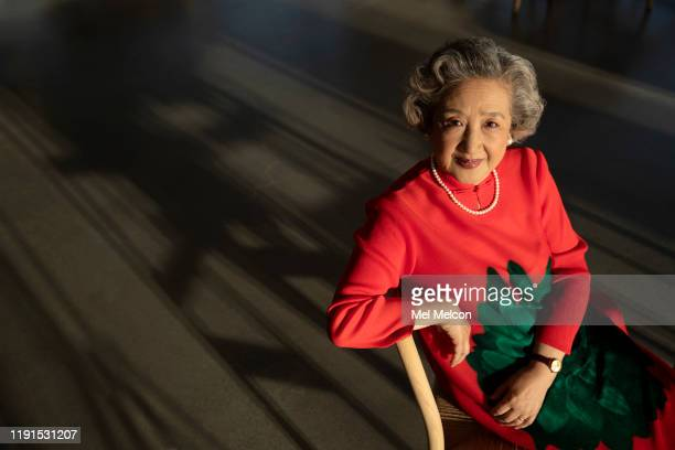 Actress Zhao Shuzhen is photographed for Los Angeles Times on November 11 2019 in Los Angeles California PUBLISHED IMAGE CREDIT MUST READ Mel...