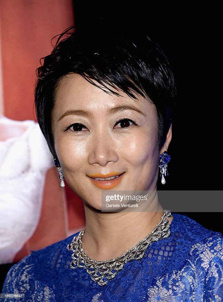 Actress Zhao Tao attends the 'Cleopatra' cocktail hosted by Bulgari during The 66th Annual Cannes Film Festival at JW Marriott on May 21, 2013 in Cannes, France.