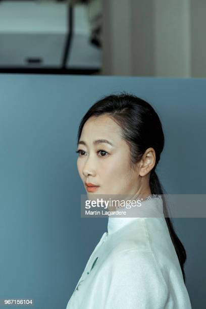 Actress Zhao Tao is photographed for Self Assignment on May 2018 in Cannes France