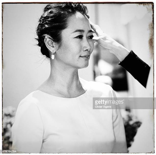 Actress Zhao Tao is photographed on May 15 2015 in Cannes France