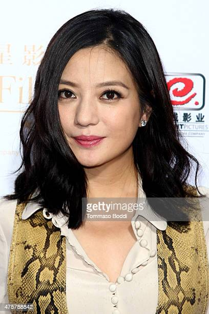 Actress Zhao Wei is honored with hand/footprint ceremony during the 88th Birthday Commemoration Of TCL Chinese Theatre IMAX at the TCL Chinese...