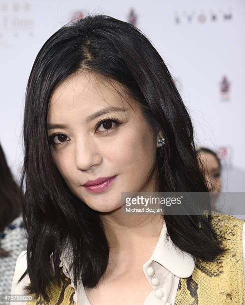 Actress Zhao Wei poses for portrait at TCL Chinese Theatre on June 3 2015 in Hollywood California