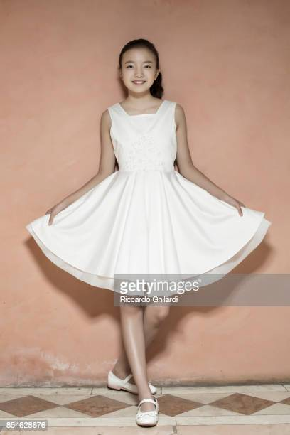 Actress Zhou Meijun is photographed for Self Assignment on September 6 2017 in Venice Italy
