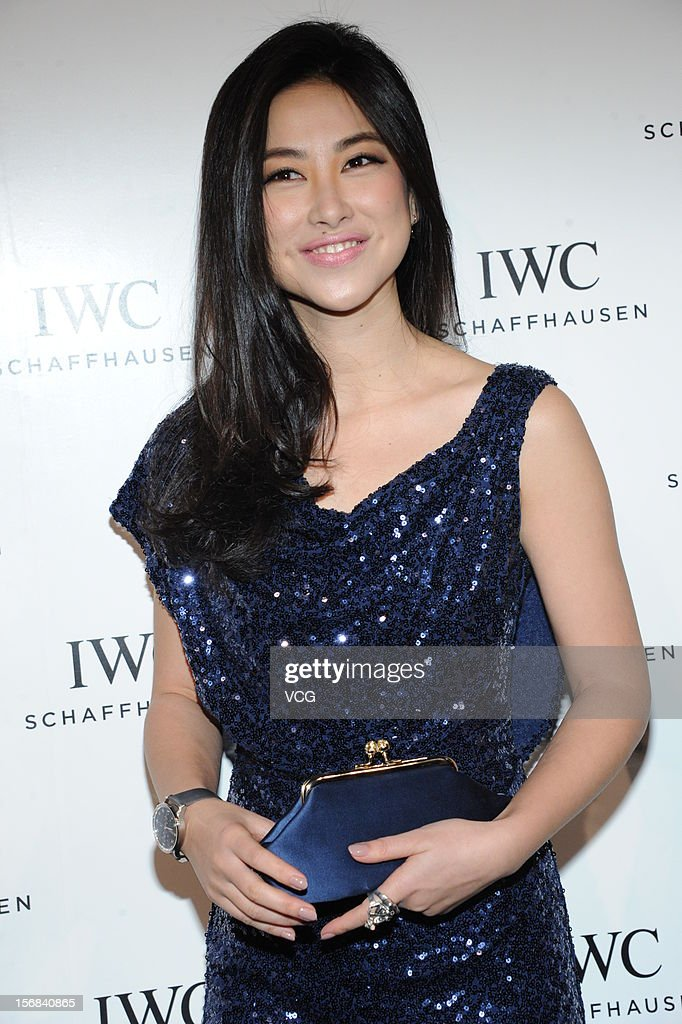 Actress Zhu Zhu attends IWC flagship store opening ceremony at Parkview Green Shopping Mall on November 22, 2012 in Beijing, China.