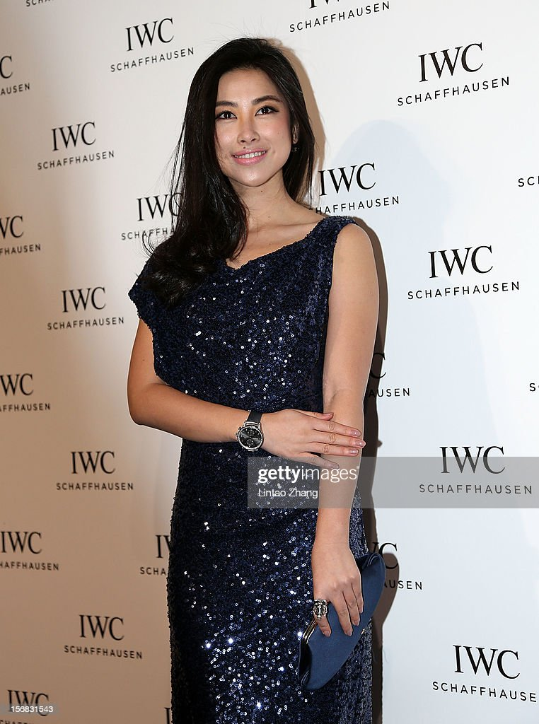 Actress Zhu Zhu attends the IWC Flagship Boutique Opening on November 22, 2012 in Beijing, China.