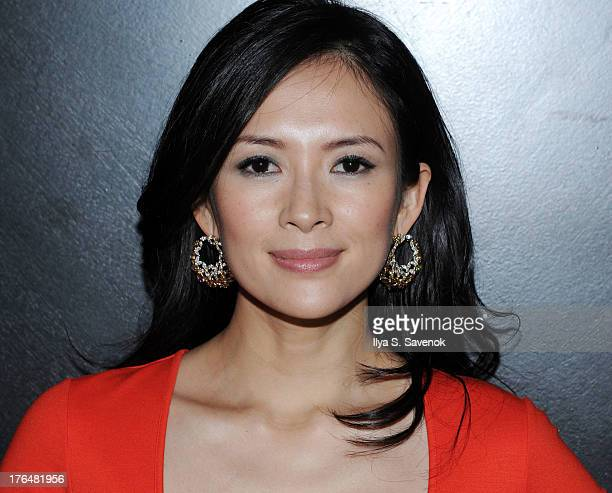 Actress Ziyi Zhang attends 'The Grandmaster' New York Screening after party at Forty Four at the Royalton on August 13 2013 in New York City