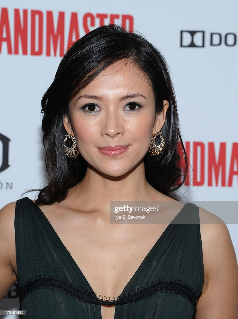 Actress Ziyi Zhang attends 'The Grandmaster' New York Screening at Regal E-Walk Stadium 13 on August 13, 2013 in New York City.