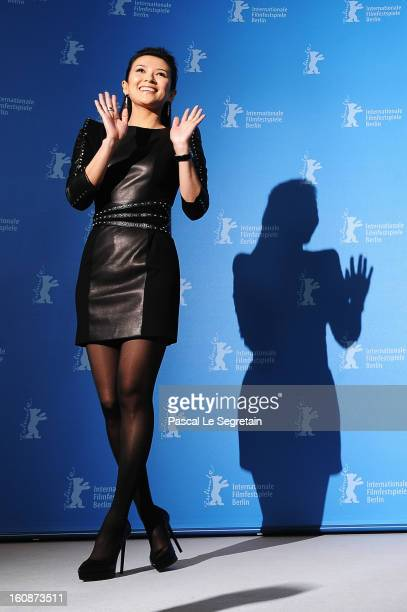 Actress Ziyi Zhang attends 'The Grandmaster' Photocall during the 63rd Berlinale International Film Festival at The Grand Hyatt Hotel on February 7...