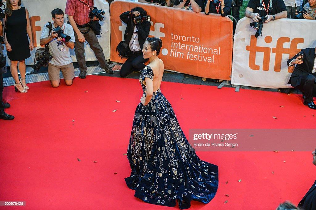 An Alternative View Of The 2016 Toronto International Film Festival : News Photo