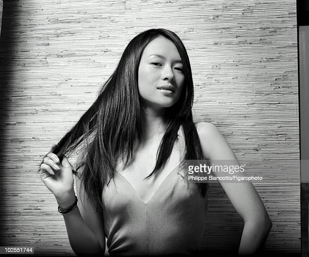 Actress Ziyi Zhang in a portrait session for Madame Figaro in Shanghai China in 2006 Published image Image ID 070664008 Credit must read Philippe...