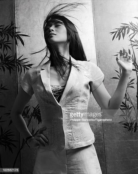 Actress Ziyi Zhang in a portrait session for Madame Figaro in Shanghai China in 2006 Published image Image ID 070664003 CREDIT MUST READ Philippe...